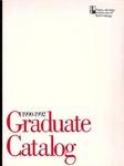 Graduate Catalog, 1990-1992, New Jersey Institute of Technology by New Jersey Institute of Technology