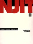 Graduate Catalog, 1996-1999, New Jersey Institute of Technology