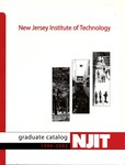 Graduate Catalog, 1999-2002, New Jersey Institute of Technology