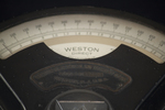 Direct current milliammeter by Weston Electrical Instruments Co.