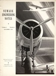Newark Engineering Notes, Volume 2, No. 1, October 1938 by Newark College of Engineering