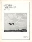 Newark Engineering Notes, Volume 3, No. 1, October, 1939 by Newark College of Engineering